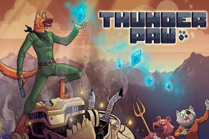 Thunder Paw, il gioco platform è arrivato su PS4, Xbox One e Nintendo Switch!