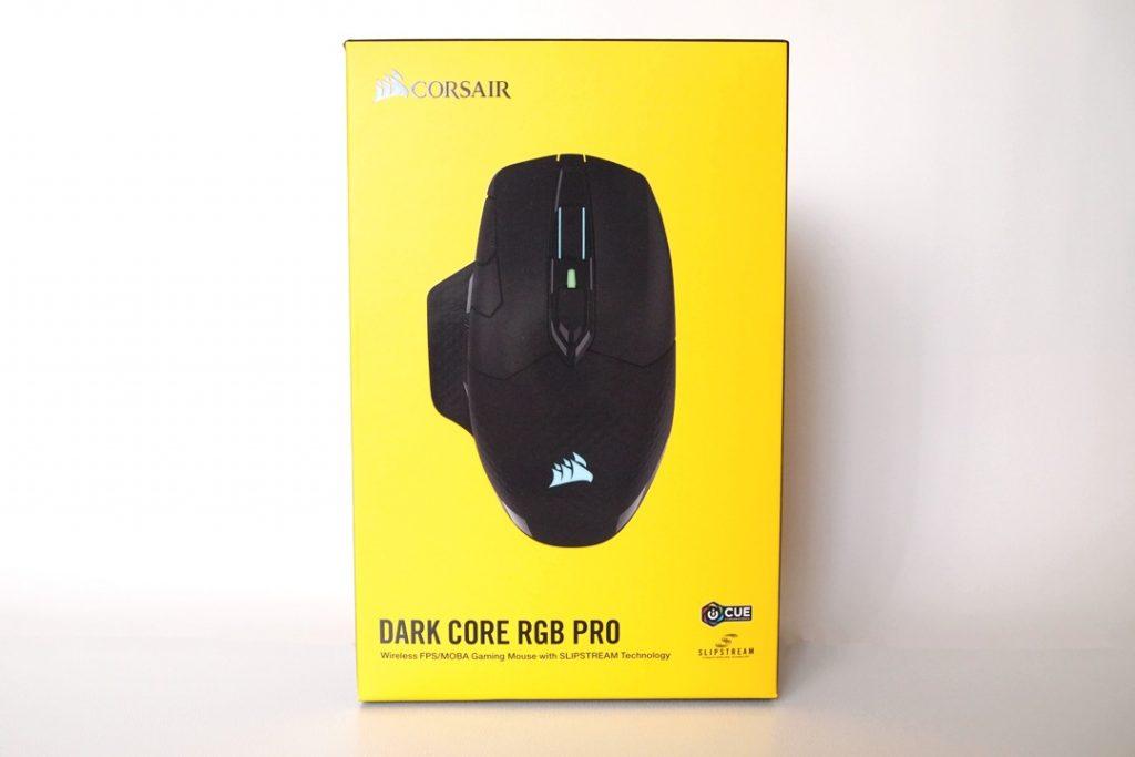 Corsair Dark Core RGB Pro confezione
