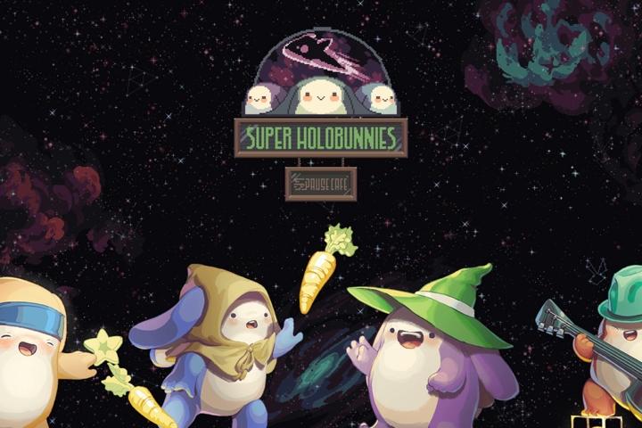 Super Holobunnies: Pause Cafè