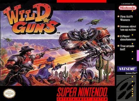 Wild Guns boxart