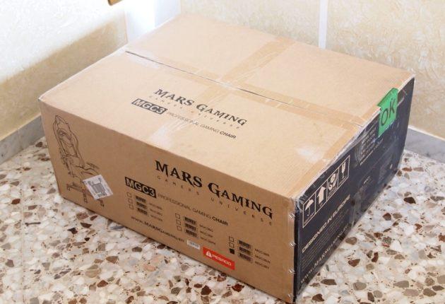 Un pacco molto voluminoso e pesante.