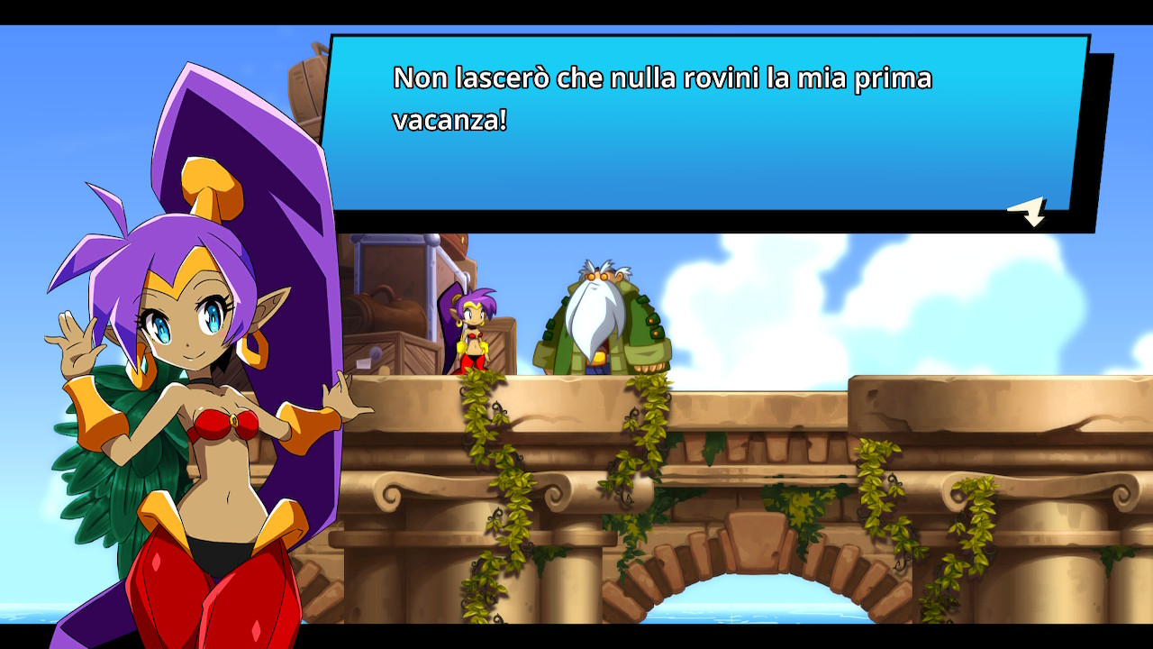 shantae and the seven sirens italiano