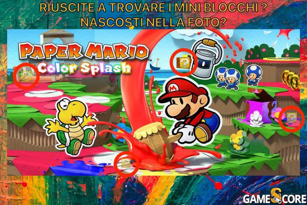Paper Mario: Color Splash con le soluzioni
