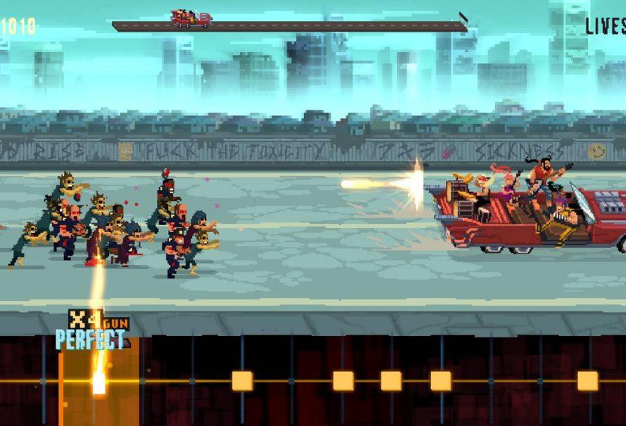 Double Kick Heroes, lo sparatutto a ritmo metal è in arrivo questo mese su PC, Nintendo Switch e Xbox One!
