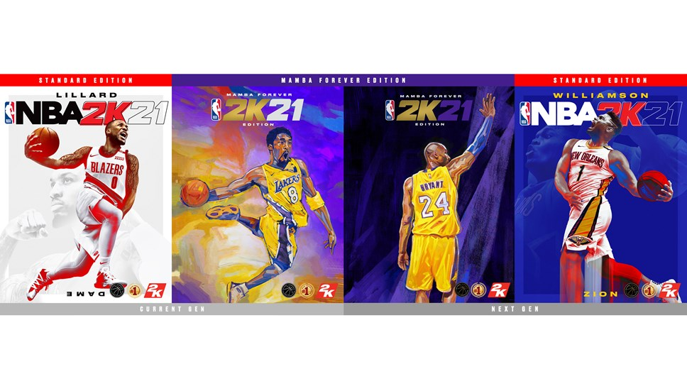 NBA 2K21 Copertine delle Edizioni