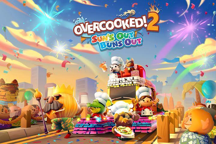 Overcooked! 2, il DLC gratuito Sun's Out Buns Out è in arrivo la prossima settimana su console!