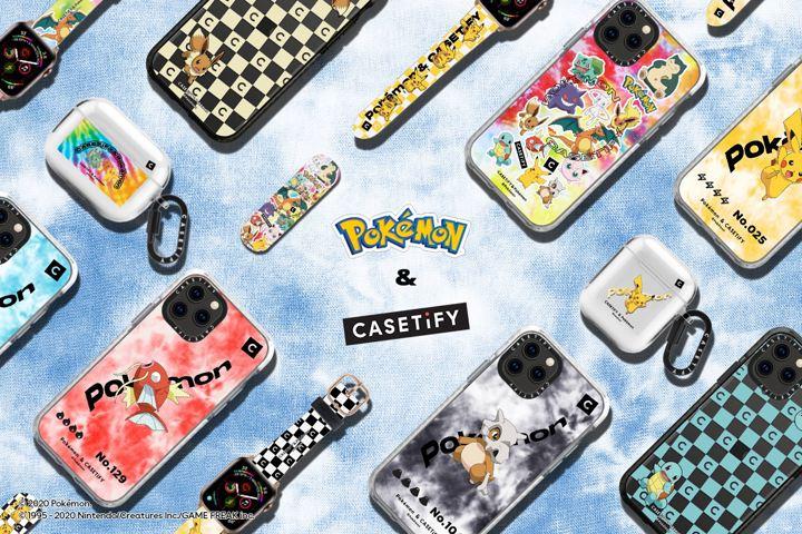 Pokémon x CASETiFY e The Pokémon Company
