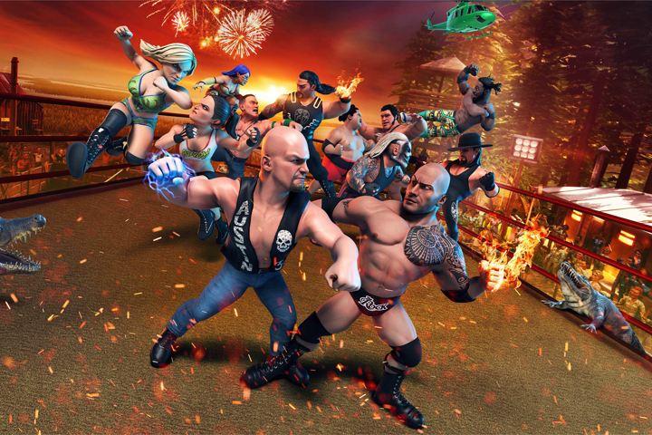 WWE 2K Battlegrounds, l'arcade game della WWE ha una data di uscita su PC e console!