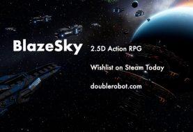 BlazeSky, l'RPG d'azione a tema sci-fi è in arrivo questo mese in accesso anticipato su Steam!