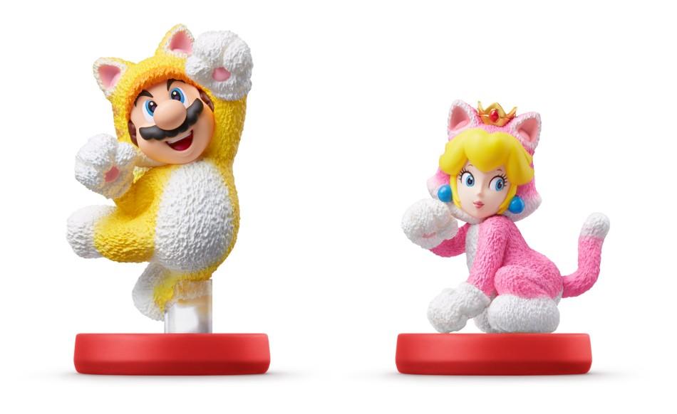 Mario/Peach gatto Amiibo